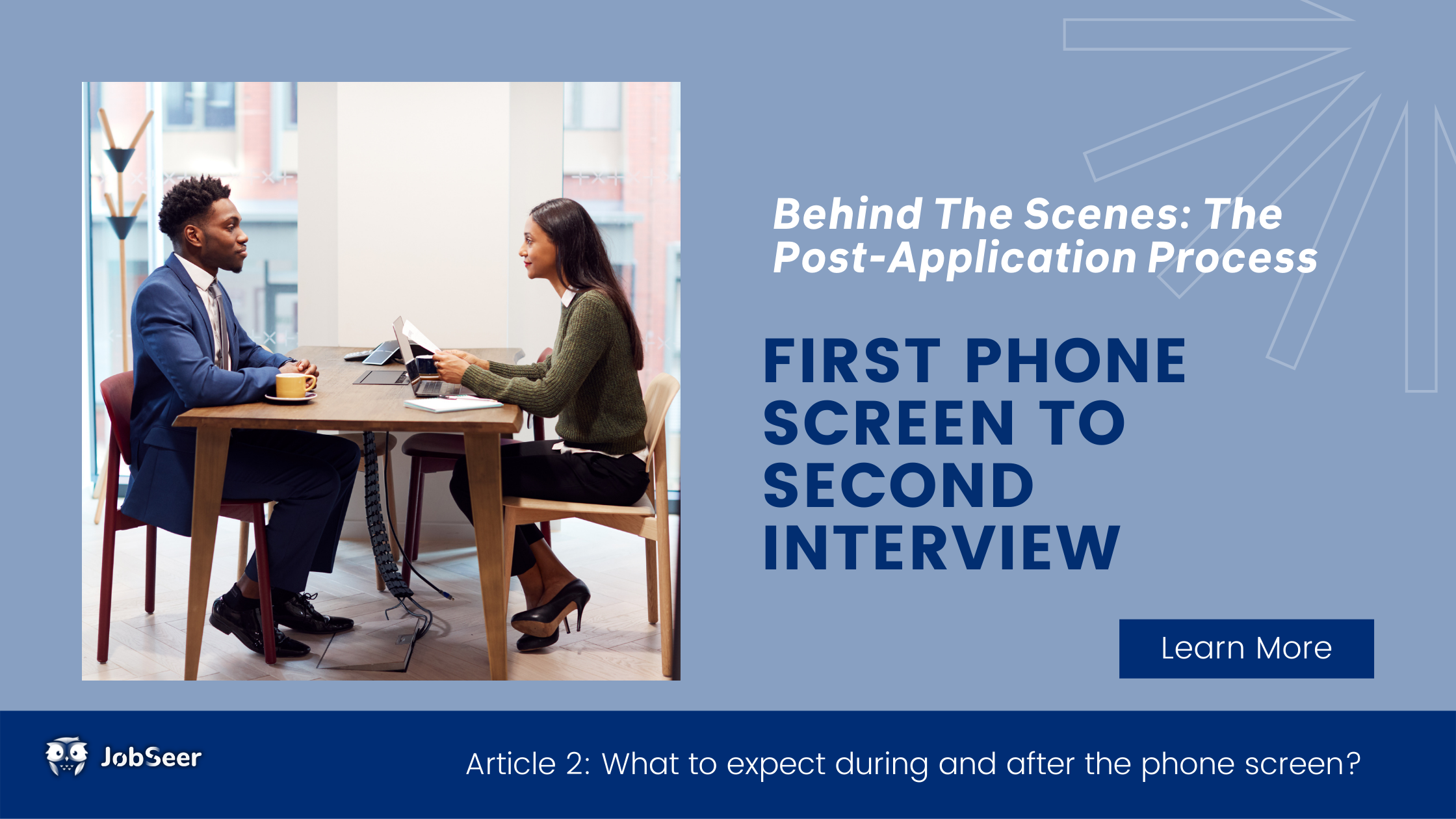 Behind the Scenes of the Post Application Process: First Phone Screen to Second Interview