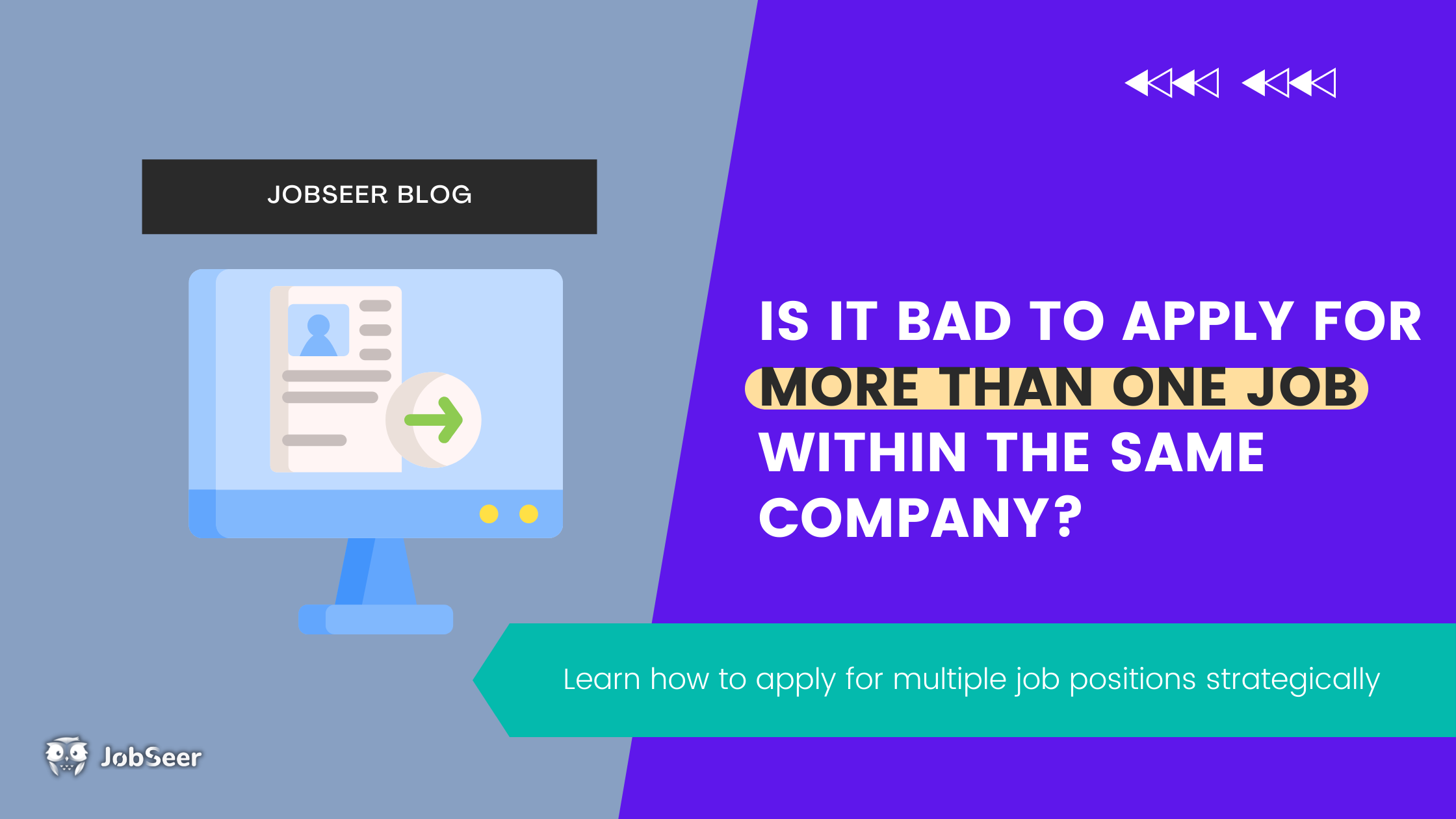 Is It Bad To Apply For More Than One Job Within The Same Company?